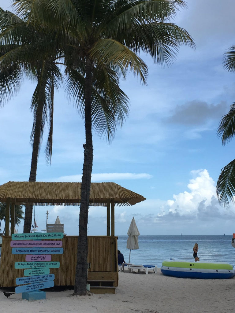 Southernmost Beach which serves a delicious Key Lime Margarita