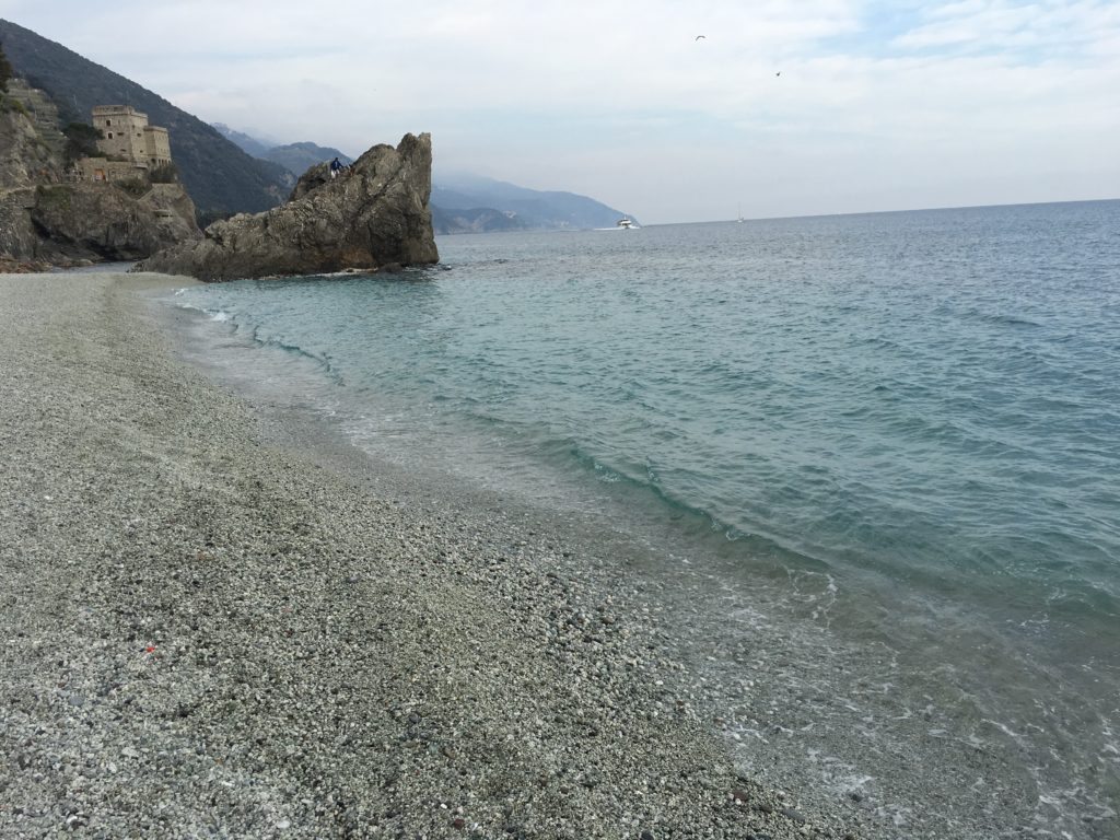 Beach in Monterosso