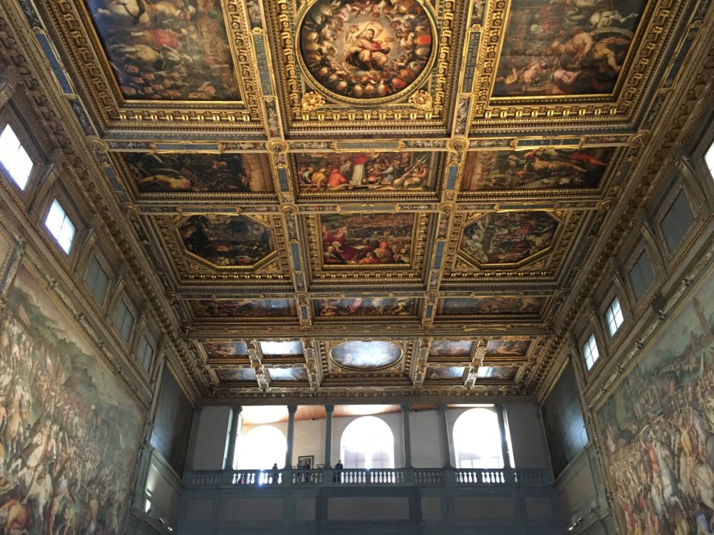 Hall of Five Hundred (at the Palazzo Vecchio)