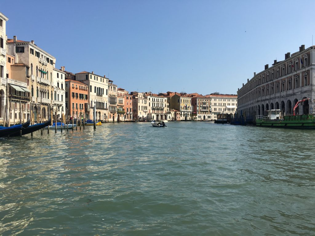 Grand Canal from the Traghetto di Santa Sofia