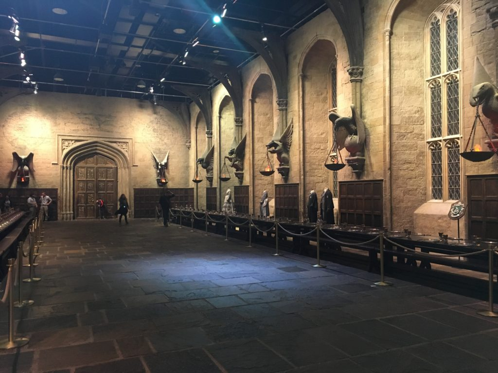 Great Hall set