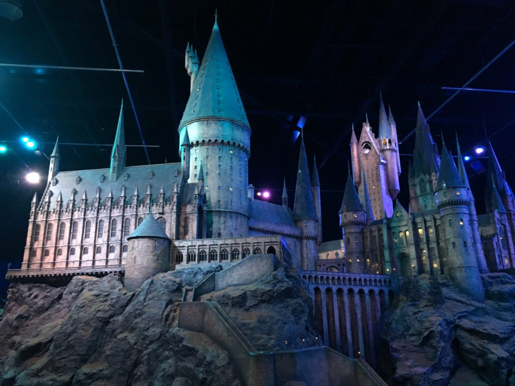 Model of Hogwarts Castle