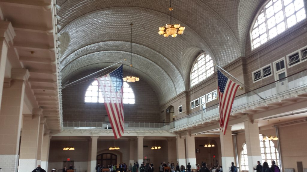 Interior of Ellis Island Immigration Museum