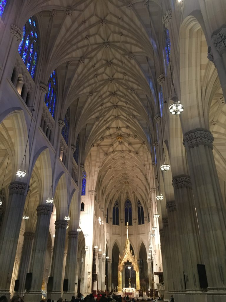 Inside St Patrick's Cathedral