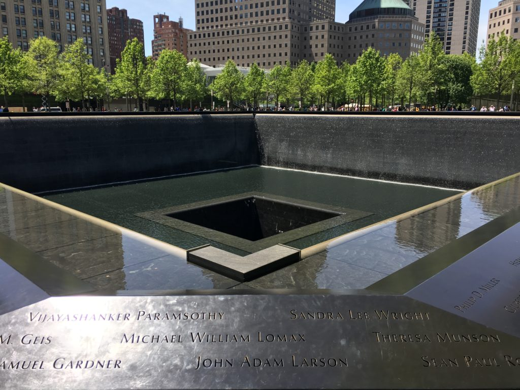 South Pool at the National September 11 Memorial and Museum