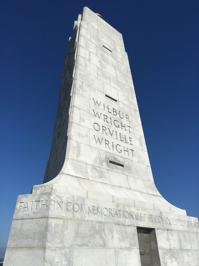 Wright Brothers National Memorial, Kitty Hawk