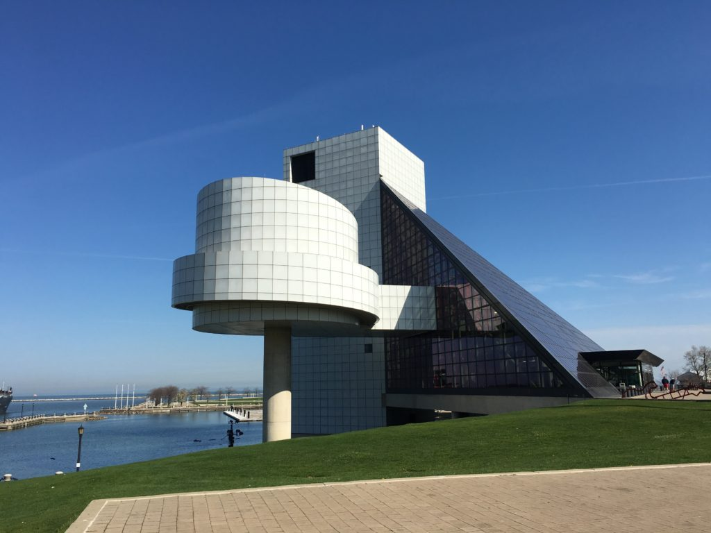 Rock and Roll Hall of Fame, Cleveland