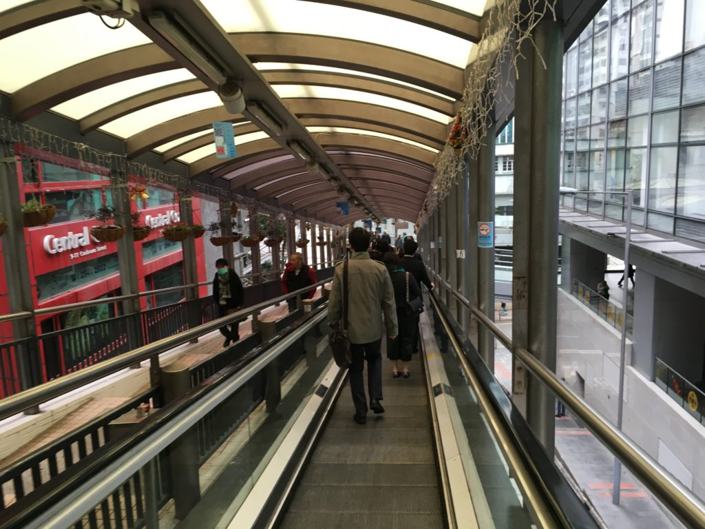 Central-Mid Levels Escalators