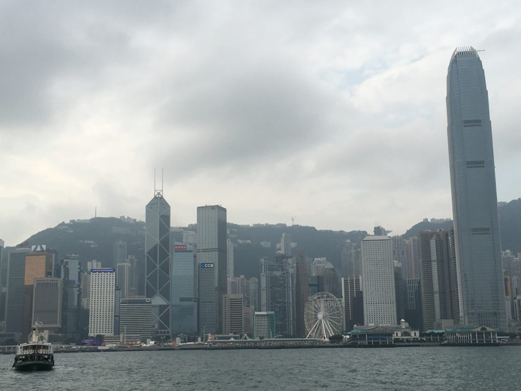 Victoria Harbour and the Central District Skyline