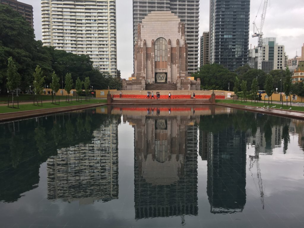 ANZAC War Memorial and Pool of Reflection