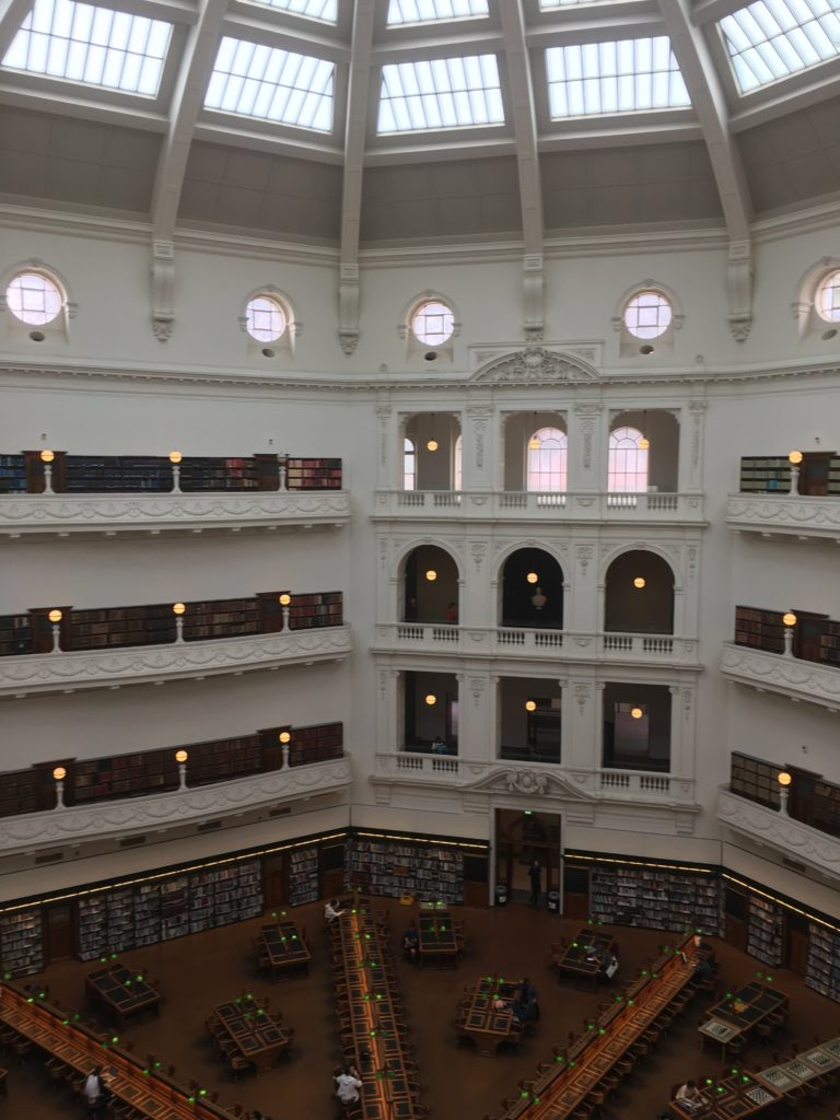 The Dome reading room